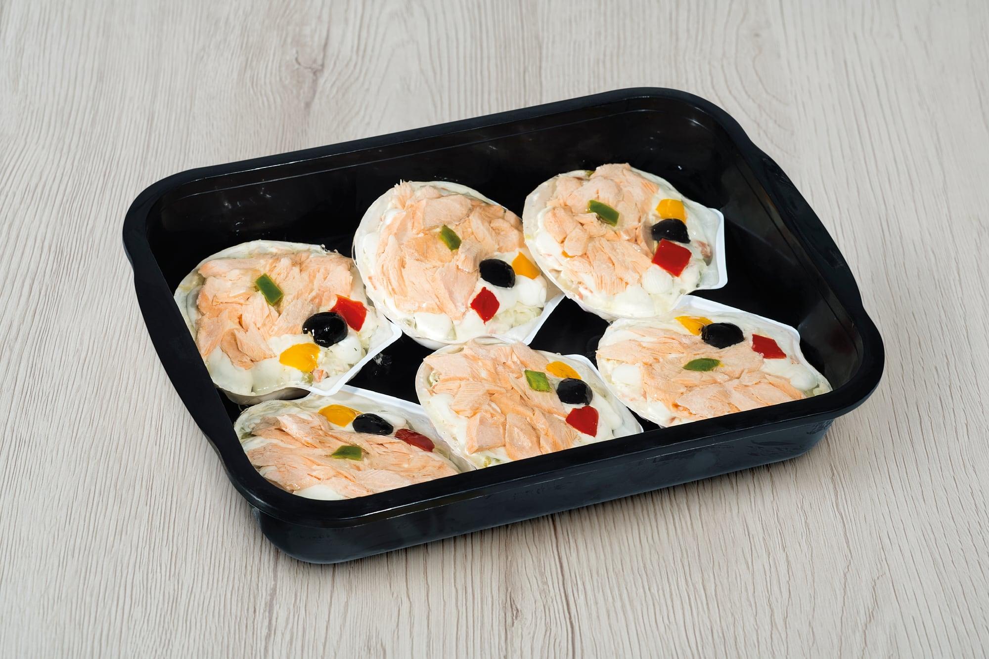 Conchiglie con salmone La Gastronomica Padova