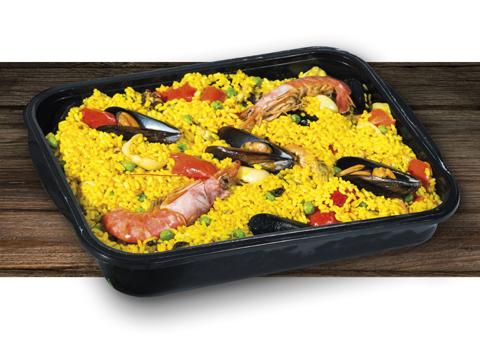 Paella Di Pesce La Gastronomica