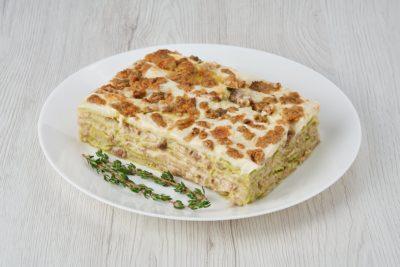 Pasticcio Lasagne verdi e ragù d'anatra